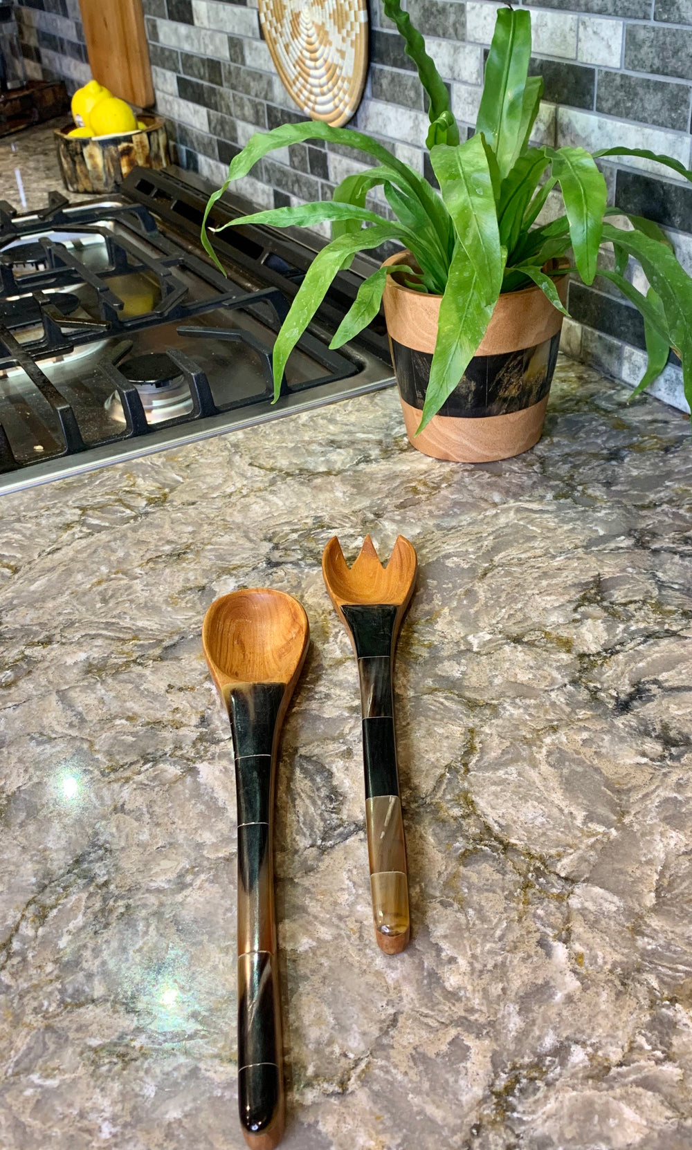 Pacot Salad Tongs by Atelier Calla from Haiti