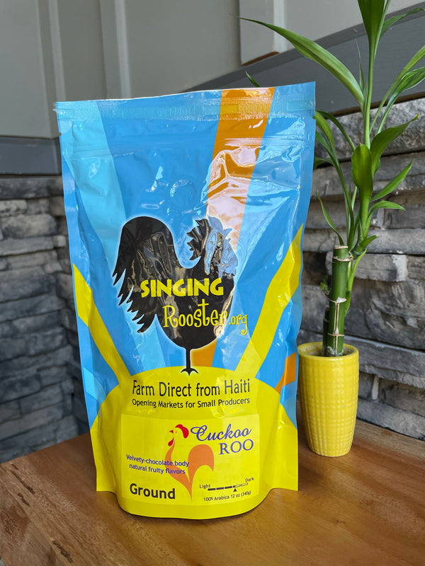 Cuckoo Roo Premium Coffee by Singing Rooster from Haiti