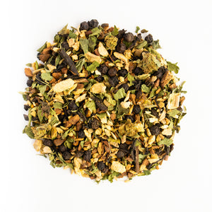 CBD chai tea, all natural ingredients, sourced from The Tea Spot