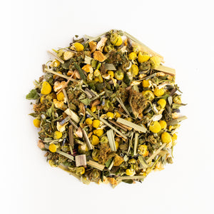 cbd tea peppermint, chamomile, hemp tea, natural organic ingredients
