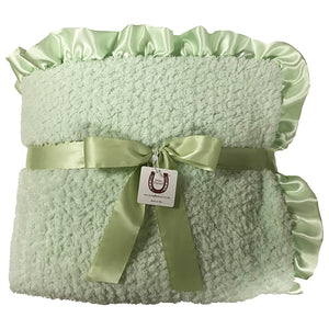 Celadon Chenille Throw