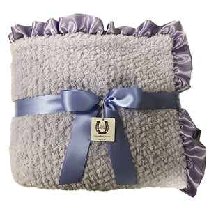 Lavender Chenille Throw