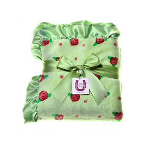 Apple Blossom Throw