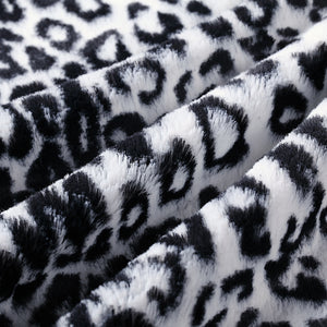 Black Jaguar Baby Blanket