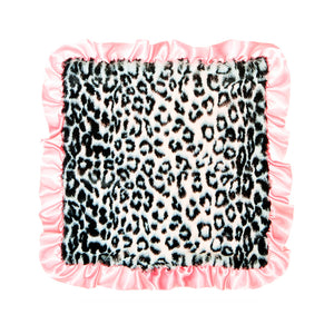 Black Jaguar Pink Trim Security Blanket