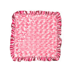 Bubble Gum Rosebuds Security Blanket