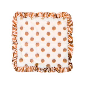 Champagne Dots Security Blanket