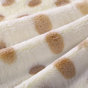 Champagne Dots Child Blanket