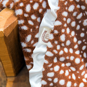 Fawn Baby Blanket