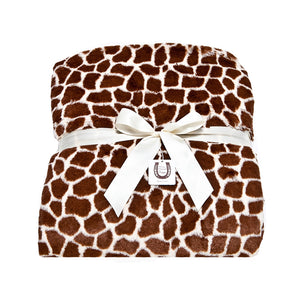 Ivory Giraffe Throw