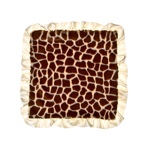 Ivory Giraffe Security Blanket