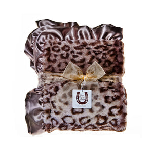 Gray Jaguar Child Blanket