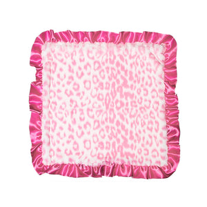Hot Pink Jaguar Security Blanket