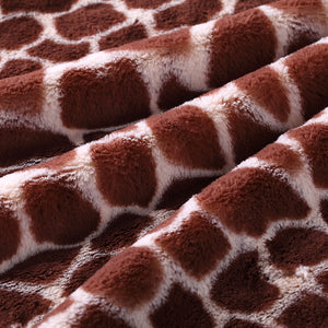 Ivory Giraffe Child Blanket