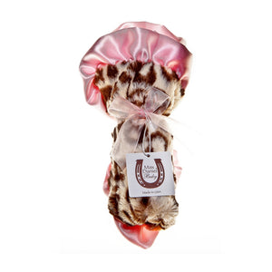 Jaguar Pink Trim Security Blanket