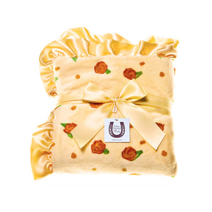 Lemon Blossom Adult Throw