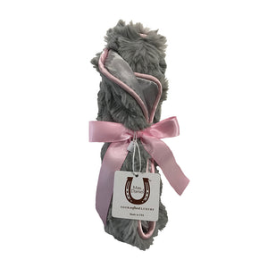 Luxe Grey Bunny Security Blanket