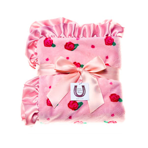 Peach Blossom Adult Throw