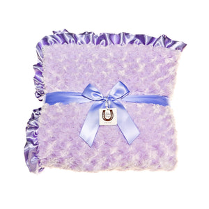 Lavender Rosebuds Throw