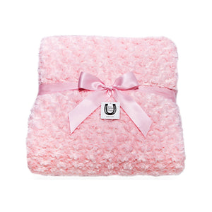Pink Rosebuds Throw