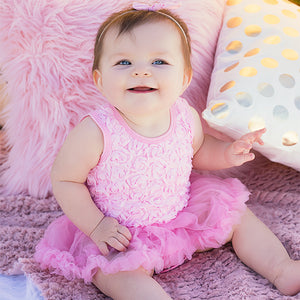 Pretty in Pink Rosebud Dress