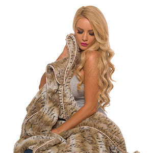 Sand Cat Adult Throw