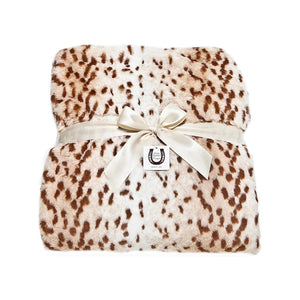 Snow Leopard Throw