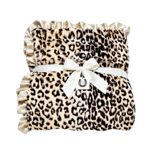 Tan Jaguar Throw