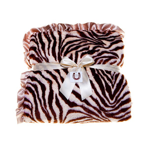 Tan Zebra Throw