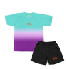 Bigger Love Two-sided T-Shirt (Gradient) + Black Shorts