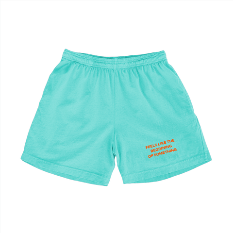 Bigger Love Shorts (Teal)