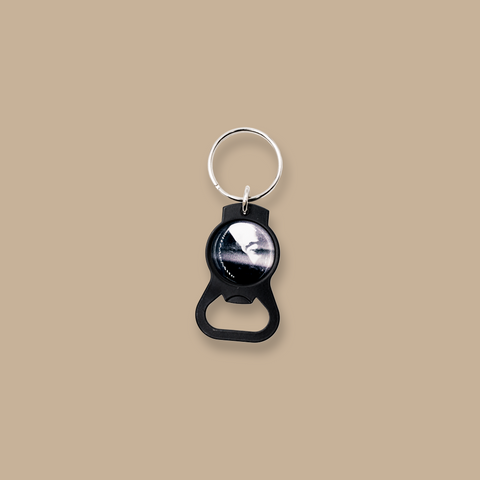 Darkness and Light Bottle Opener Keychain