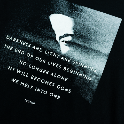 Darkness Lyrics T-Shirt