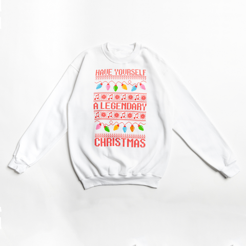 Yuletide Crewneck (White)