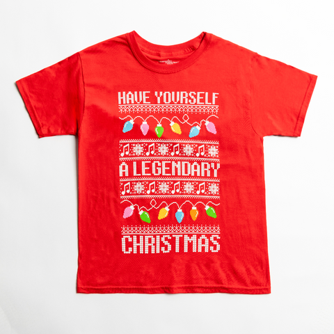 Yuletide Sweater T-Shirt (Youth)
