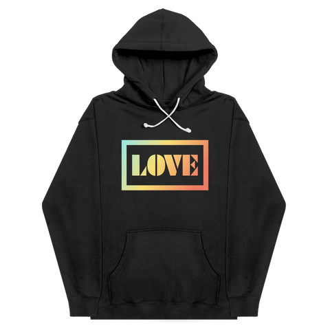 LOVE Hoodie Charity Initiative (Black)