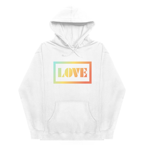 LOVE Hoodie Charity Initiative (White)