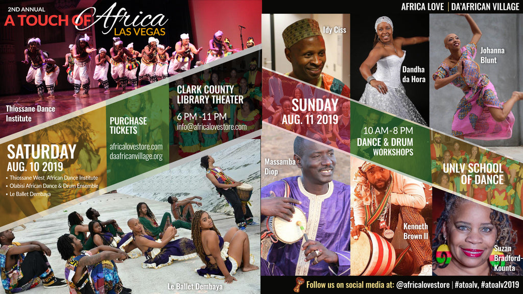 A Touch of Africa Las Vegas 2019