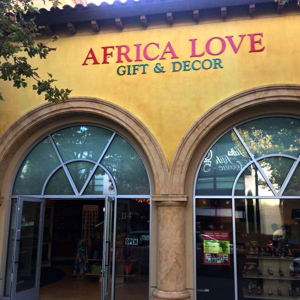 'Africa Love' is simply that – a store that showcases all that we love about Africa.