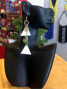 Abstract Triangles (2) Earrings