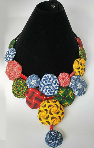 Necklace-Disc-Princess: Multicolored