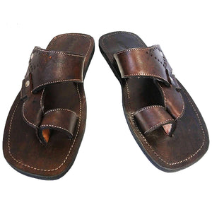 Ngaye Sandals: Dark Brown (Unisex)