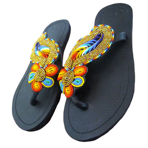 Maasai Sandals_Maua (Lotus)