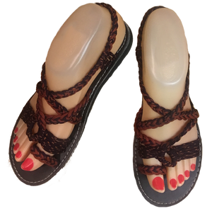 Pendo Slingbacks - Black & Brown