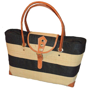 Raffia Hand Bag-The Boss Lady