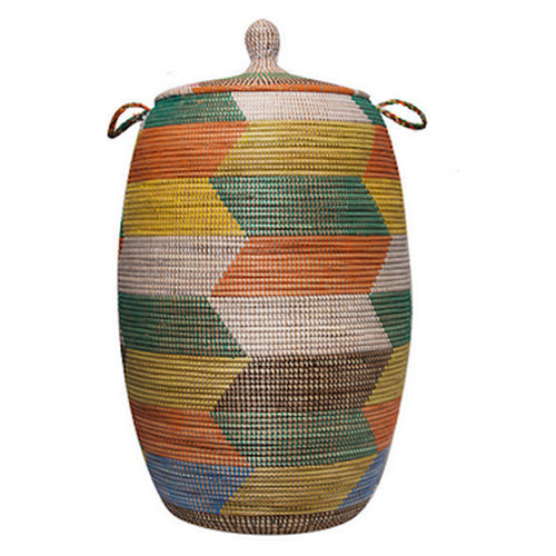 Hamper/Storage Basket - Multicolored Fall