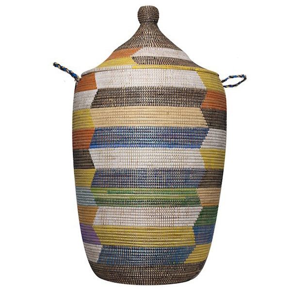 Hamper/Storage Basket - Multicolored Summer