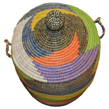 Hamper/Storage Basket -Rainbow