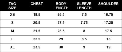 Rogue Territory Pocket T-Shirt sizing