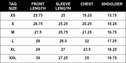 Rogue Territory Tiger Stripe Camo Service Shirt sizing